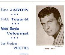 (12) Calendrier 1961 Henri Vidal  Produit Vedettes (bon Etat) - Petit Format : 1961-70