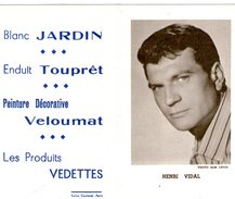 (12) Calendrier 1961 Henri Vidal  Produit Vedettes (bon Etat) - Tamaño Pequeño : 1961-70