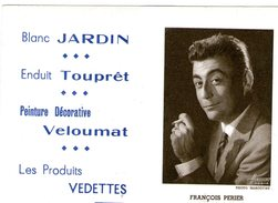(12) Calendrier 1961 Francois Perier  Produit Vedettes (bon Etat) - Petit Format : 1961-70