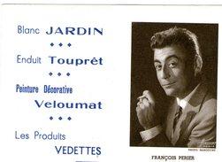 (12) Calendrier 1961 Francois Perier  Produit Vedettes (bon Etat) - Tamaño Pequeño : 1961-70