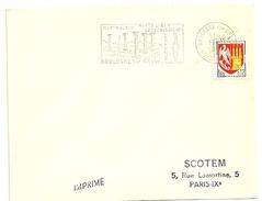 GARONNE / Haute - Dépt N° 31 = BOULOGNE S/ GESSE 1964 = FLAMME SECAP Illustrée ' MONTMAURIN' + Venus Paléolithique - Marcophilie (Lettres)