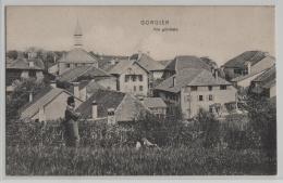 Gorgier -.Vue Generale - Animee - Photo: Timothee Jacot No. 880 - NE Neuchâtel