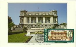 Romania / Maxi Card / Military Cercle - Bucharest