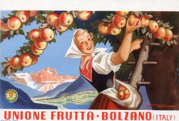 Bolzano BZ - Locandina Unione Frutta - Bolzano (Bozen)