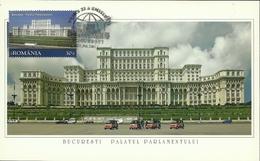 Romania / Maxi Card / Palace Of Parliament - Bucharest
