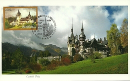 Romania / Maxi Card / Peles Castle - Sinaia