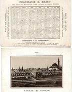 (12) Calendrier 1888 1er Semestre  Saint John De Acre Israel  Pharmacie E .Emery Paris  (bon Etat) - Calendriers