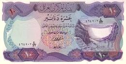 *  IRAK 10 DINARS ND (1973) P-65 NEUF SIGN. FAWZI AL-KAISSI [IQ322b] - Iraq