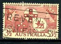Australie Y&T 230 ° - 1952-65 Elizabeth II : Ed. Pré-décimales