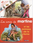 MARTINE  -  Les Amis De Martine  - Avec 40 Gommettes Repositionnables - 5 Scans - Other