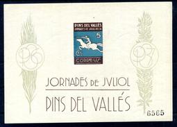 """1937 SPAGNA """"JORNADES DE JVLIOL DEL 36 PINS DEL VALLES"""" - 1931-Oggi: 2. Rep. - ... Juan Carlos I"""