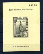 "1937 SPAGNA ""CATALUNYA FESTA NACIONAL"" - 1931-Oggi: 2. Rep. - ... Juan Carlos I"