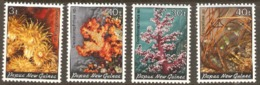 Papua New Guinea 1982 SGs 439,441,446,448, Corals Unmounted Mint - Papua New Guinea