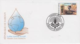 Enveloppe  FDC  1er  Jour   DJIBOUTI    Lutte  Contre  La  Soif   1995