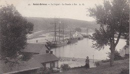 CPA 22 - SAINT-BRIEUC - Le Légué -  Le Bassin à Flot - Saint-Brieuc