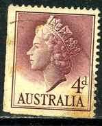Australie Y&T 235 ° - 1952-65 Elizabeth II : Ed. Pré-décimales