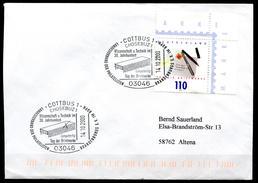 "Germany 2000 Sonderbeleg Computertechnik Mit Mi.Nr.2148 U.Sorben SST""Cottbus/Chosebuz-Computerchip""1 Beleg"