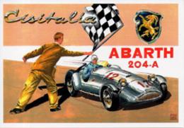 Auto Cisitalia Abarth 204-4 Spider Sport Brovarone A. CPM - Automobilismo - F1
