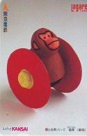 Carte Prépayée Japon * ZODIAQUE * SINGE * TK STERNZEICHEN AFFE (772) MONKEY * HOROSCOPE * CARD ZODIAC - Zodiac