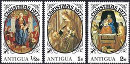 Antigua 1976 - Christmas : Paintings Madonna & Child ( Mi 479/81 - YT 472/74 ) MNH**