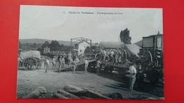 CAMP DU VALDAHON  EMBARQUEMENTS EN GARE - France