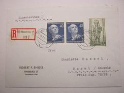 1952 , Brief Mit Guter Frankatur