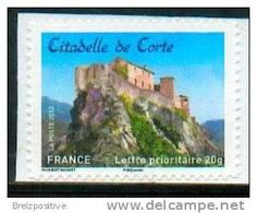 France 2012 - Corse, Citadelle De Corte / Corsica, Corte Citadel - MNH