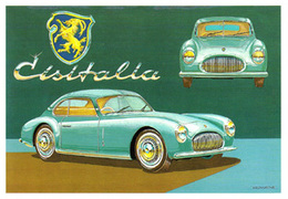 Auto Cisitalia 202 Coupe'  Sport Pinifarina Brovarone A. CPM Pinin Farina - Automobilismo - F1