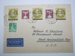 1956 , Brief Mit Guter Frankatur In Die USA