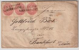 1867, Bahnpost Auf Einheit (1864) , #7514