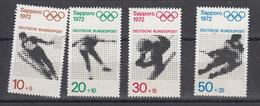 Germania Federale - 1970 - Olimpiadi Di Monaco E Sapporo **