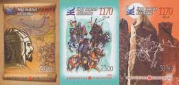 Kyrgyzstan 2013 Mih. 762B/64B Great Kyrgyz Kaganat (imperf) MNH **