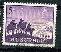 Australie Y&T 262 ° - 1952-65 Elizabeth II : Ed. Pré-décimales