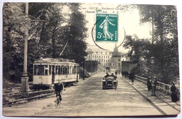 TRAMWAY BOULEVARD CARNOT - LILLE - Tramways