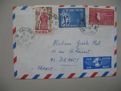 Viêt-Nam - Saigon  Lettre  Pour La France Année 1968 - Viêt-Nam