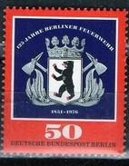 PIA - BERLINO - 1976 : 125° Anniversario Dei Pompieri Di Berlino  -  (Yv 487)