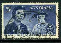 Australie Y&T 267 ° - 1952-65 Elizabeth II : Ed. Pré-décimales