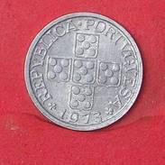 PORTUGAL 10 CENTAVOS 1973 -    KM# 594 - (Nº17853) - Portogallo