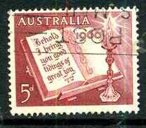 Australie Y&T 271 ° - 1952-65 Elizabeth II : Ed. Pré-décimales