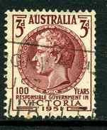 Australie Y&T 182 ° - 1952-65 Elizabeth II : Ed. Pré-décimales