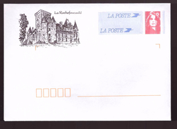 France PAP Pret à Poster Neuf Marianne De Briat La Rochefoucauld Chateau - Prêts-à-poster: Other (1995-...)