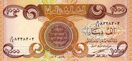 IRAK 1000 DINARS 2003 P-93 NEUF [IQ349a]