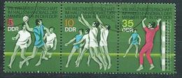 DDR  1974  MI 1928 - 1930  Hallenhandball-WM  Gestempelt