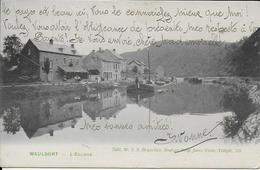 WAULSORT ..-- L' Ecluse . 1907 Vers BXL ( Melle BEUN ) . Voir Verso .