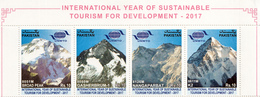 PAKISTAN- 2017 HIMALAYAN PEAKS- K2, Nangaparbat, Broad Peak,Gasherbrum-1- MNH Set