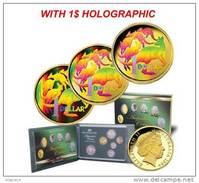 Australie - Proof Set 2004 - With Rare Holographic 1$ - PROMO !!! - Mint Sets & Proof Sets