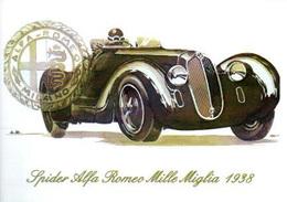 Spider Alfa Romeo Mille Miglia Sport Brovarone A. CPM - Automobilismo - F1