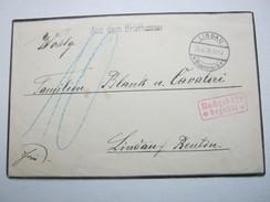 1926 , Lindau ,  AUS DEM BRIEFKASTEN ,  Nachportobrief, Taxe