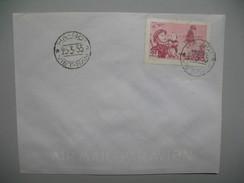 Viêt-Nam   Lettre  Ha-Noi, Cover Hanoi 1955 - Viêt-Nam