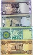 IRAQ 50 250 500 1000 DINARS 2003-2004 P.90-93 UNC SET [IQ346-IQ349] - Iraq